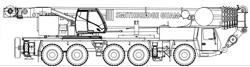275T Grove GMK5275 All Terrain Hydraulic