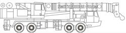 60T Grove TMS760 Truck Crane