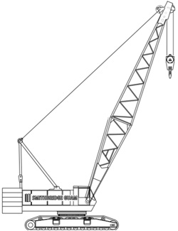 120T Manitowoc M12000 Lattice Boom Crawler (x2)