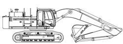 50T Hitachi ZX470LCH-3