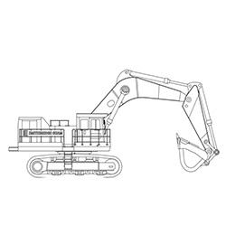 120T Hitachi EX1200-5 (x2)