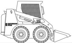 Bobcat Skid Steer (x3)